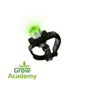GREEN LED 8 HEADLAMP HORTILIGHT