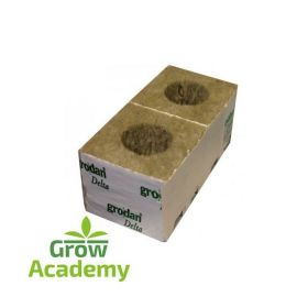 "GRODAN DM4G 75MM (3"") CUBE WITH 42/40 LARGE HOLE"