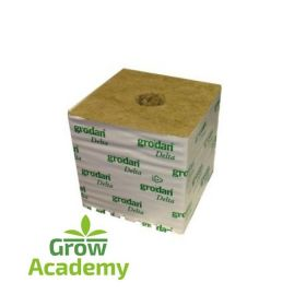 "GRODAN HUGO DM32G 150MM (6"" ) 40/40 CUBE WIT"