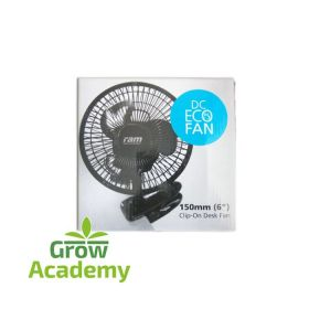 RAM 150MM ECO CLIP ON FAN WITH TRANSFORMER 6-5W