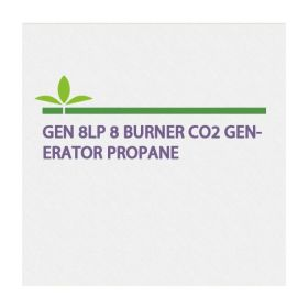 GEN-8LP 8 BURNER CO2 GENERATOR PROPANE