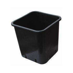 Black Square pot 15x15x20 3,4lt
