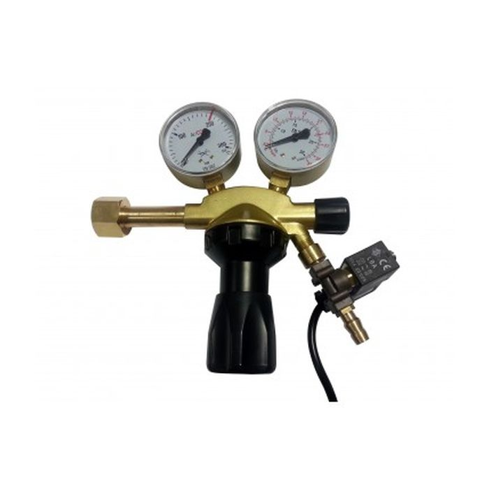 CO₂ Pressure Reducing Valve With Magnetic Valve Pro