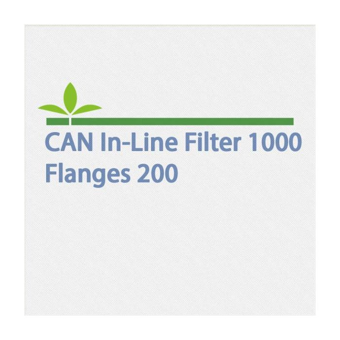 Can In-Line Filter 1000 Flanges 200