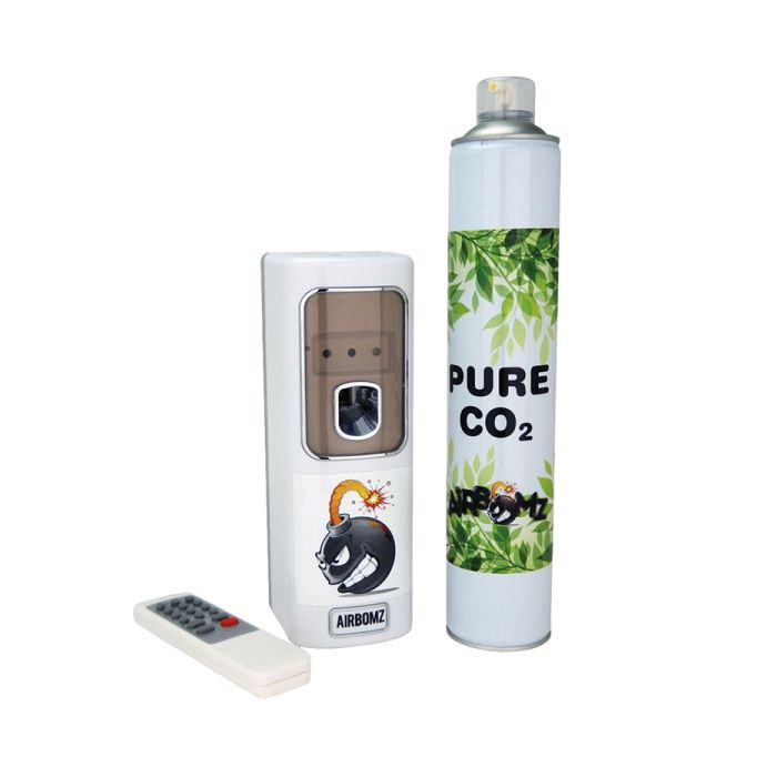 Airbomz CO₂ Dispenser (Light Sensor - CO₂ Can Included)