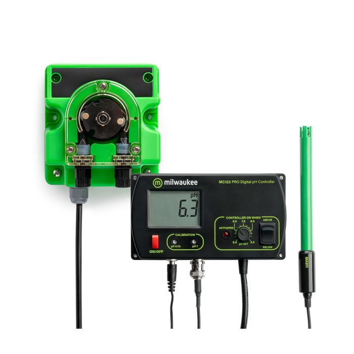 MC720 Controller kit with ph-meter and dosing pump
