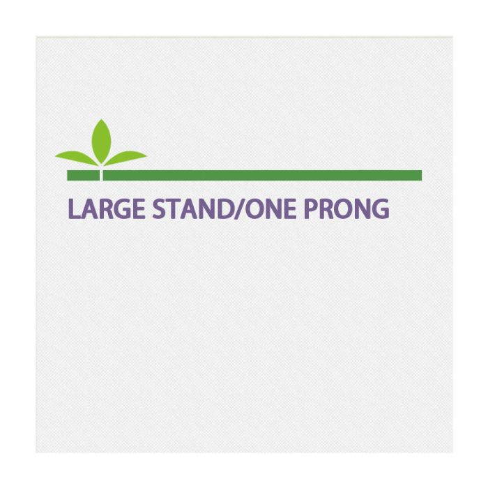Large Stand/One Prong