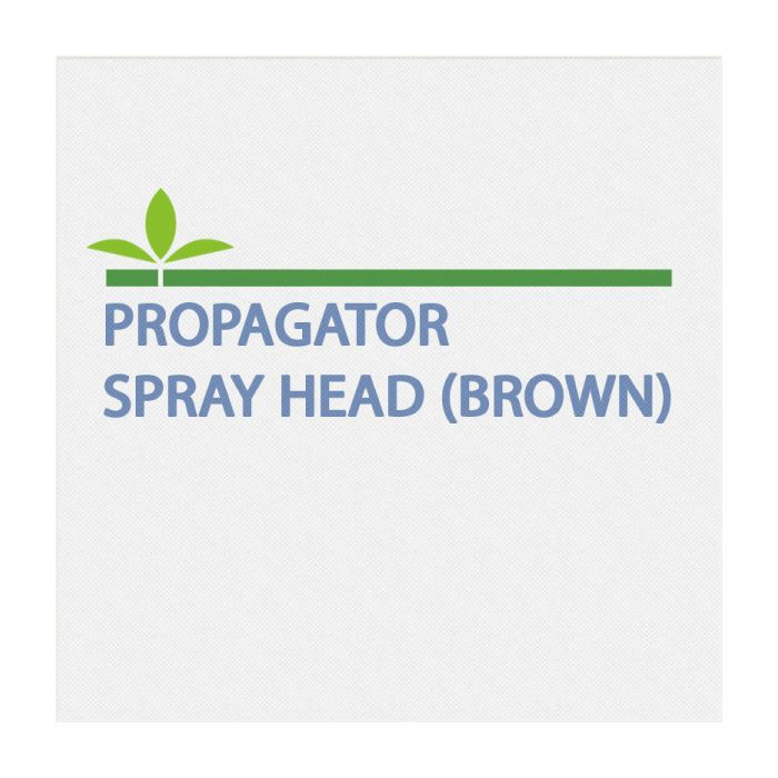 Propagator Spray Head (Brown)
