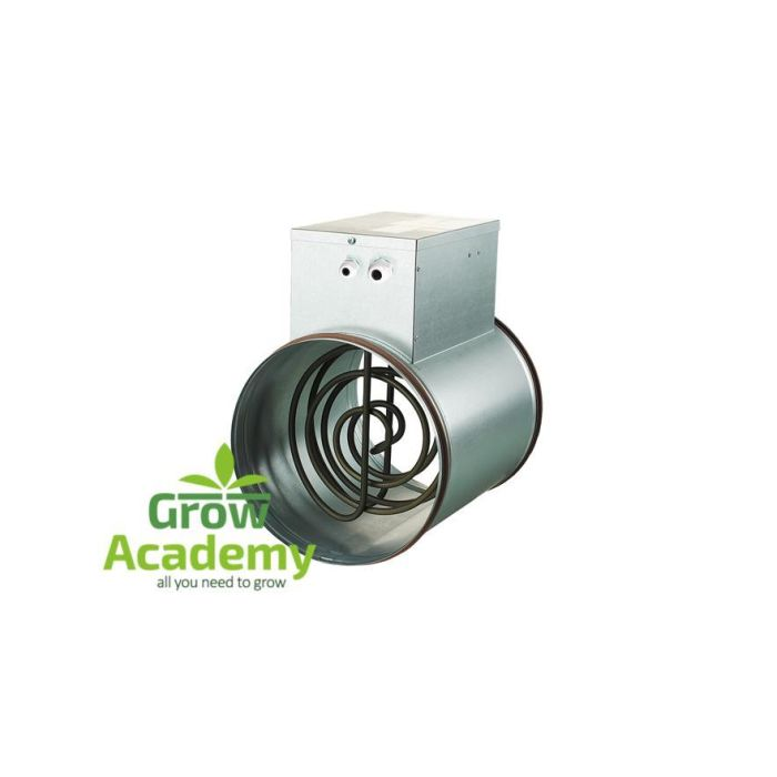 Electrical Round Duct Heater 200mm 1.2Kw